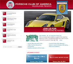 Porsche Club of America - Milwaukee Region